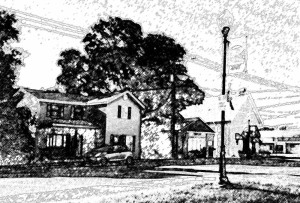 Cortland Town Hall, Library, and Home on Somonauk Road Image