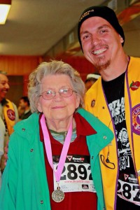 Participating in the Turkey Trot Image